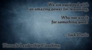 Power for reasoning - quote