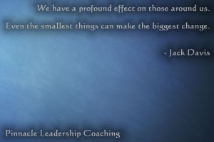Profound effect - quote