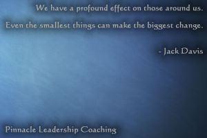 Profound effect - quote