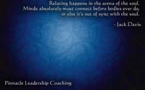 Soul relating - quote