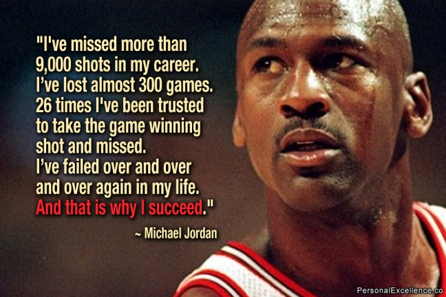 failure - michael jordan